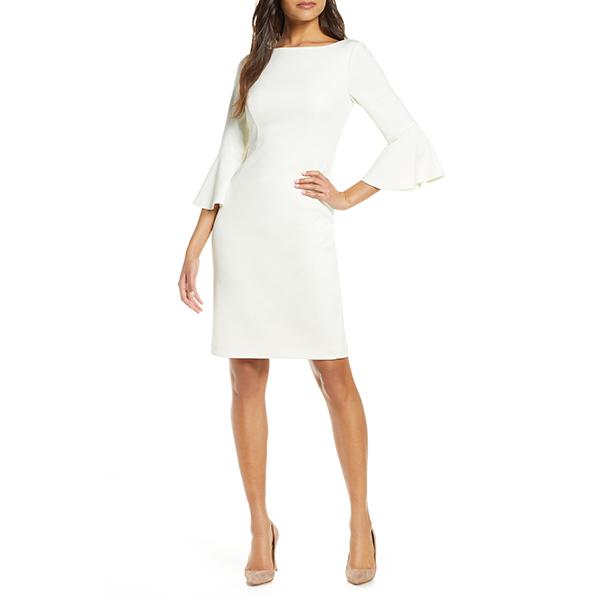 Harper Rose Bell Sleeve Sheath Dress