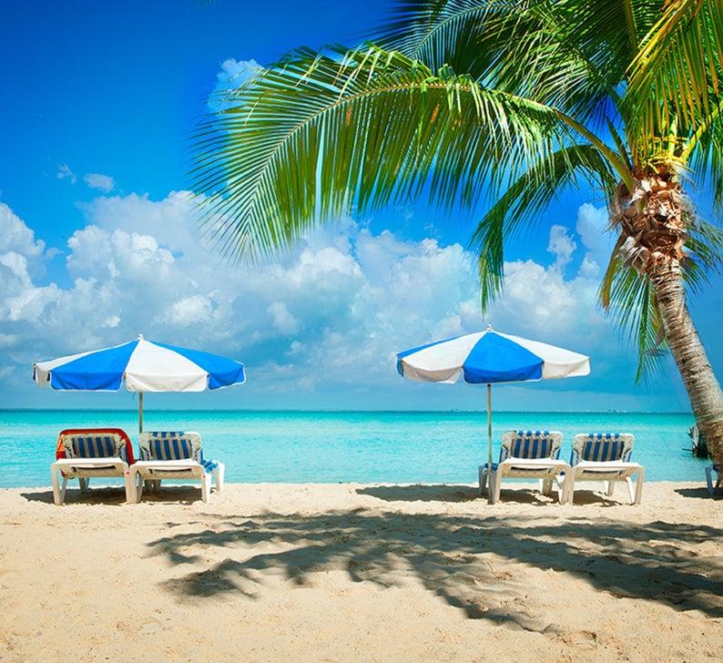 Caribbean Backdrop