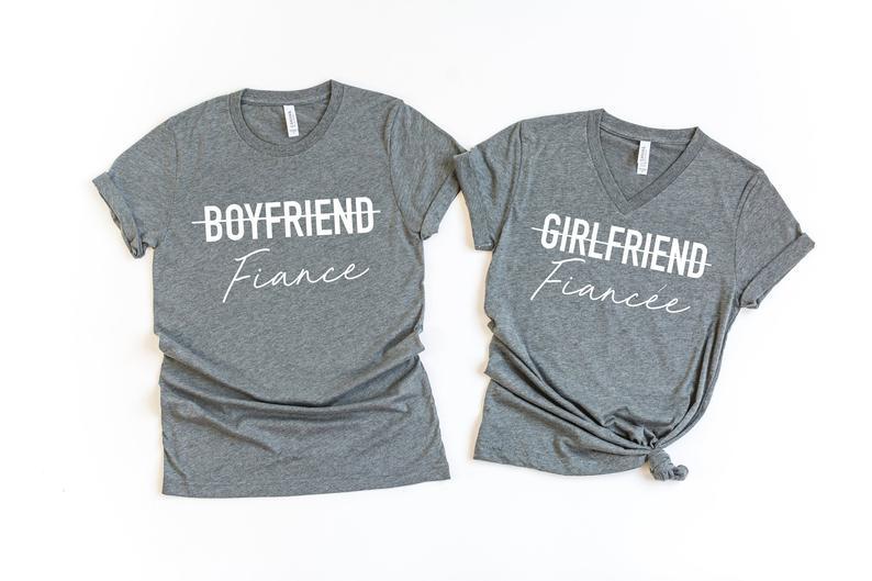 Matching Fiancé(e) Shirts