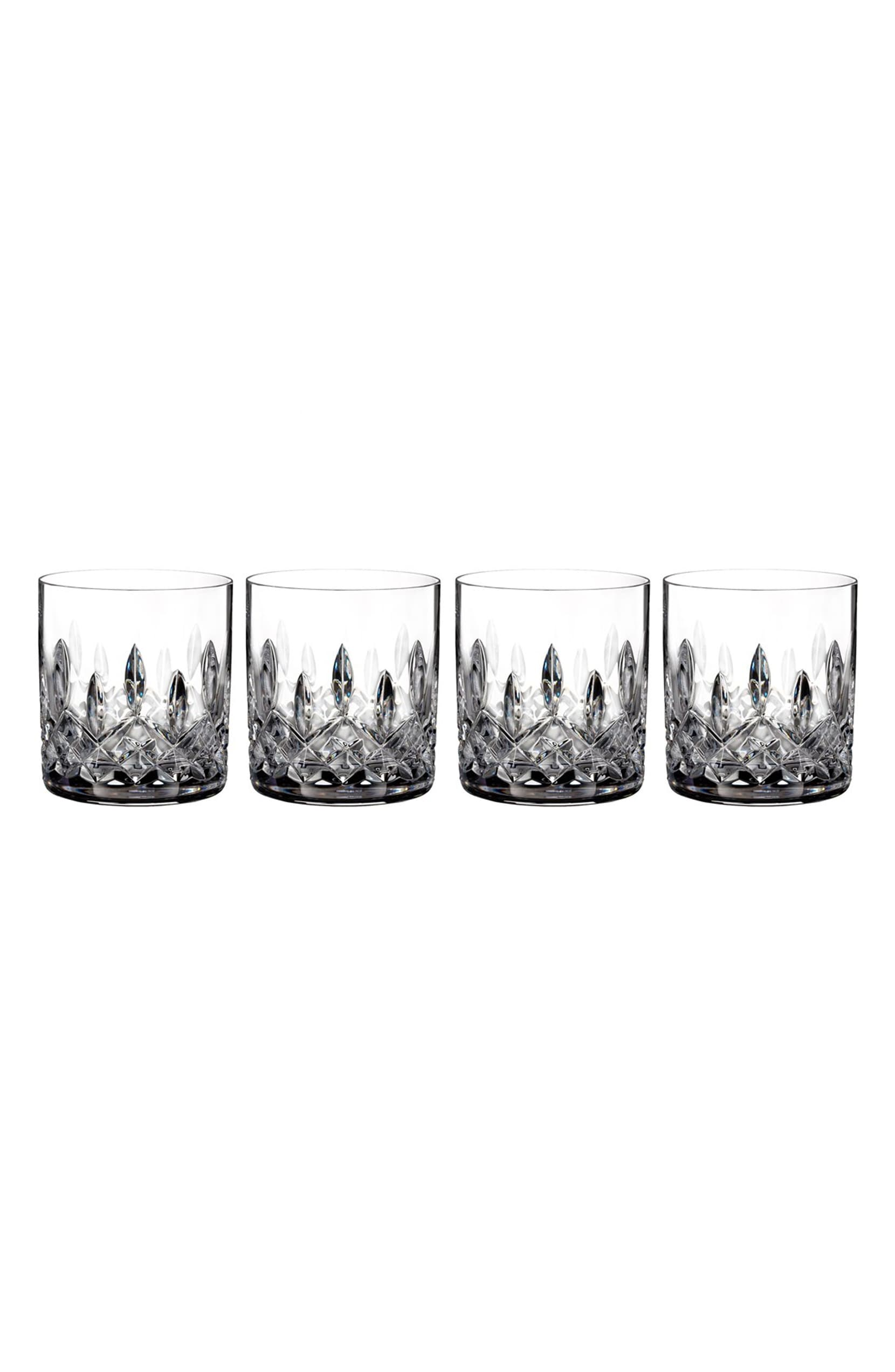Waterford Lismore Crystal Straight-Sided Tumblers