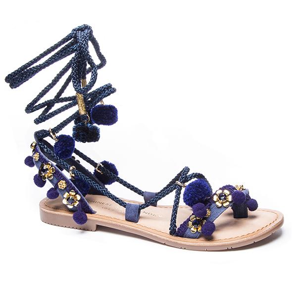 Portia Lace-Up Sandal