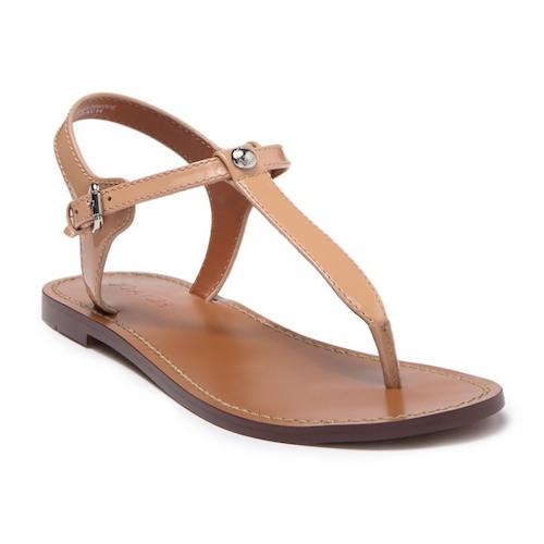 Coach Leila Leather Sandal