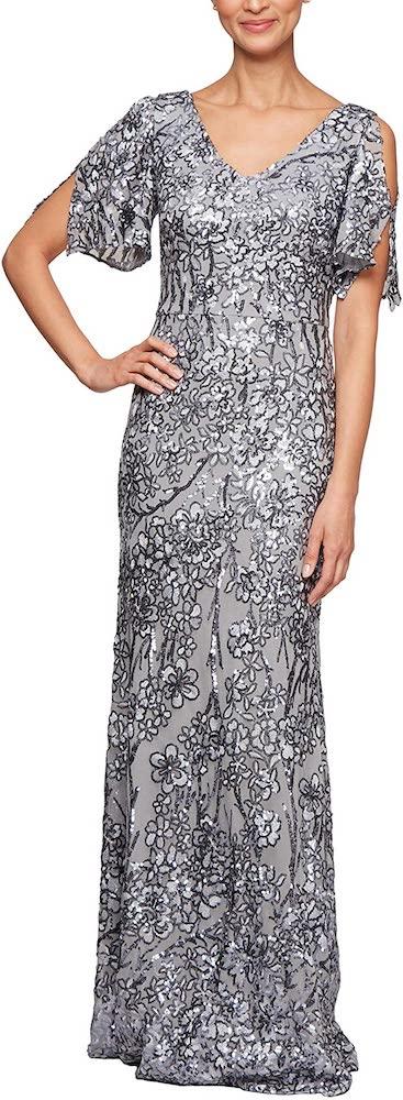 Alex Evenings Long Sequin Dresses
