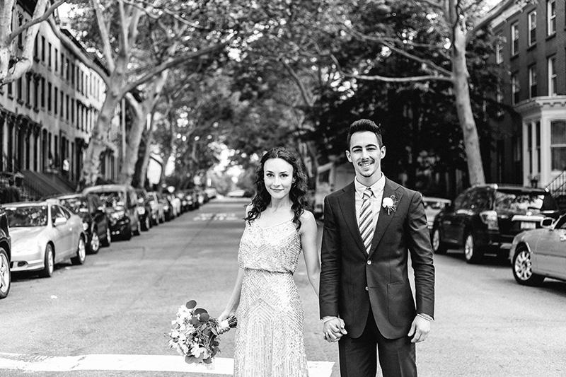 Casey & Chache's Brooklyn, NY Wedding by Maria Doka Photography