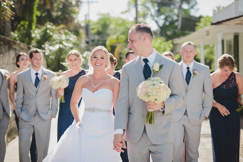 Anelise & Adam's Pretty St. Augustine, FL Real Wedding by Stephanie W. Photography