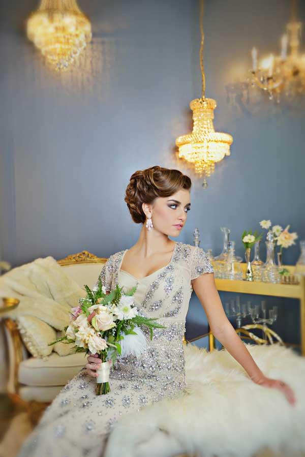 Vintage Glamour Wedding Inspiration