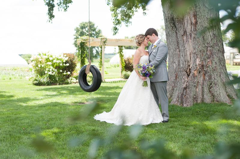 Sarah & Mark's Charming Elburn, IL Real Wedding by Elite Photo