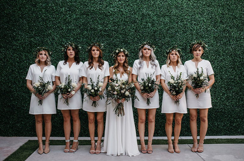Creative All-White Wedding Ideas