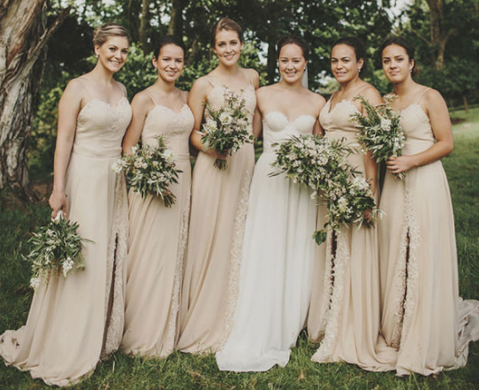 Chic Inspiration for Rocking Neutral Wedding Colors