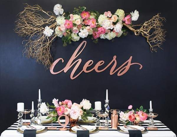 Dramatic Floral Installations & Backdrops