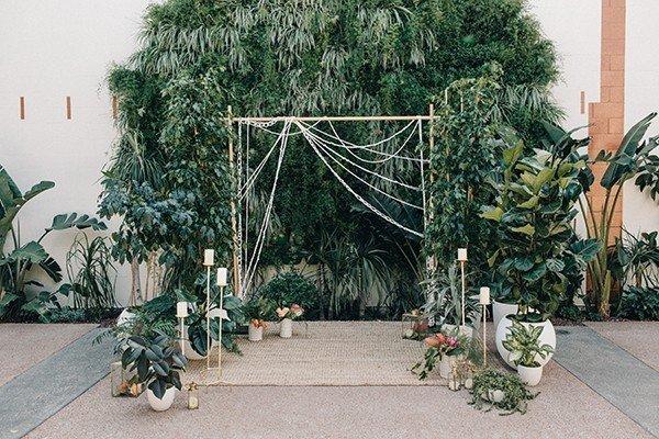 Modern Jungle Wedding Inspiration from mywedding Magazine
