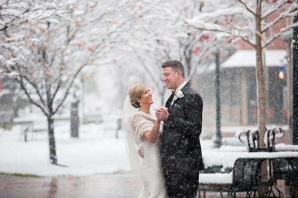 Kristin & Kevin's Snowy Kalamazoo, MI Wedding by NeriPhoto