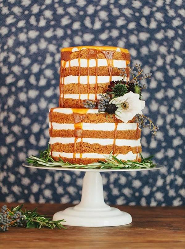 Fall Wedding Cake Trends
