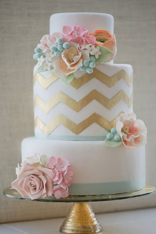 Blue & Gold Wedding Ideas