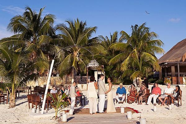Sandra & Joseph's Romantic Isla Mujeres, Mexico Wedding by Quetzal Photo