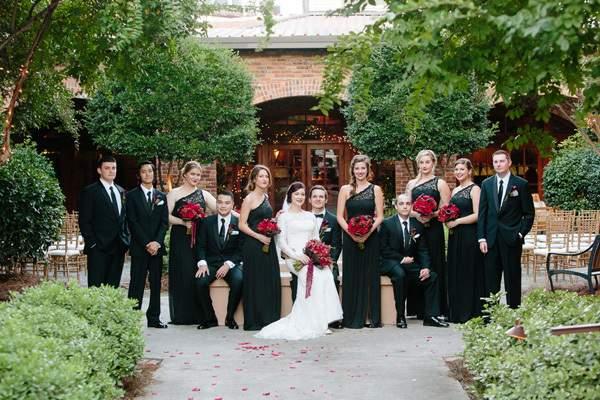 Andrea & Rhett's Romantic Macon, GA Wedding by Leigh + Becca Photography