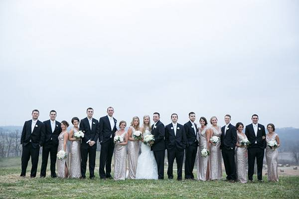 Libby & Kevin's Weston, MO Farm Wedding by Heather Brulez Photography