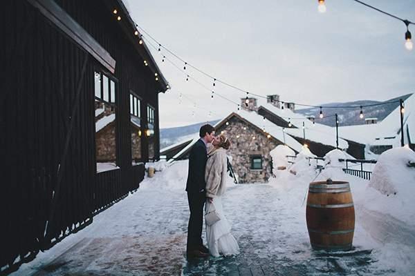 Jennifer & Matt's Rustic Tabernash, CO Wedding by Ali V Photography