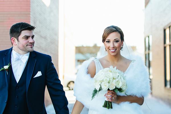 Katie & Robb's Pretty Brighton, MI Wedding by Shanell Photography