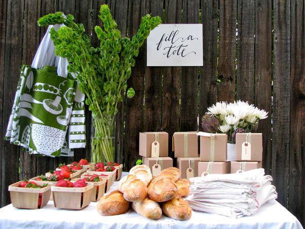 Green Bride Guide: Farmer's Market Favors