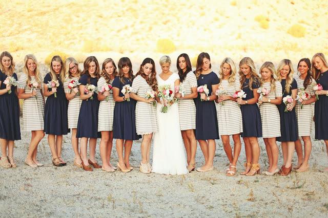 11 Stunning Striped Wedding Ideas