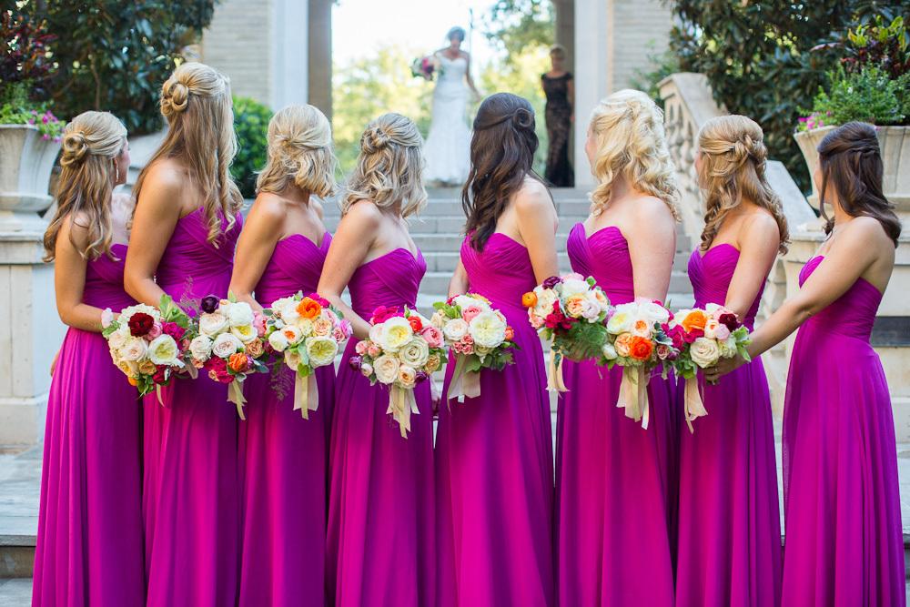 Stunning Summery Fuchsia Wedding Details