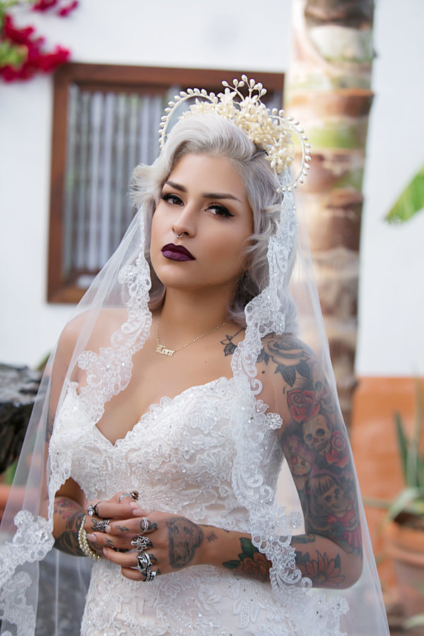 Brides Who Rocked Pastel Hair on Their Big Day