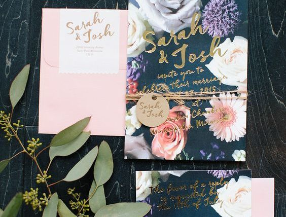10 Wedding Invitations with Awesome Typography