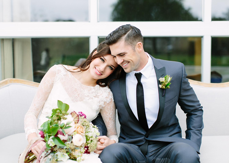 Romantic Wedding Inspiration with a Modern Twist