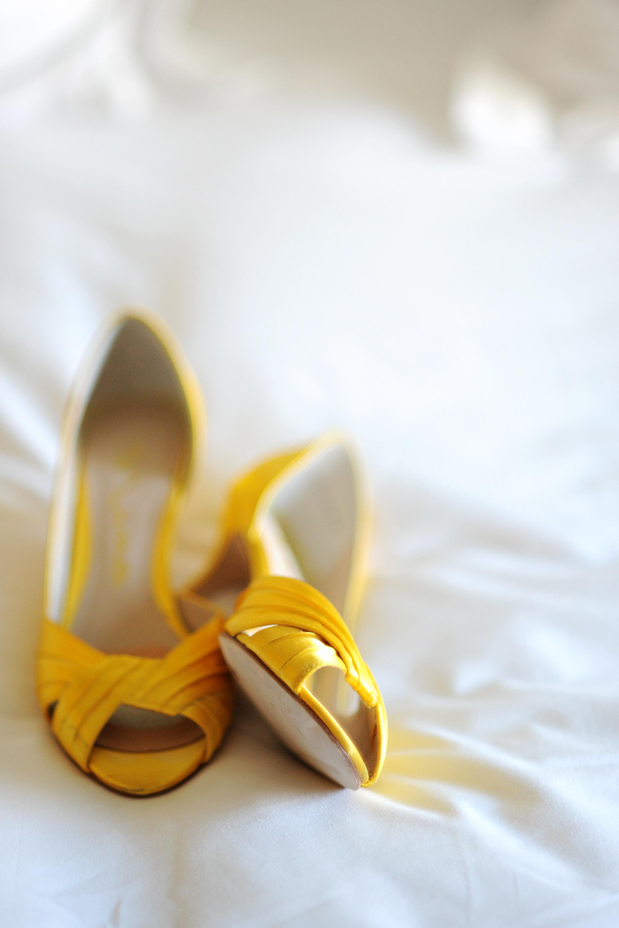 Bright & Summery Yellow Wedding Inspiration