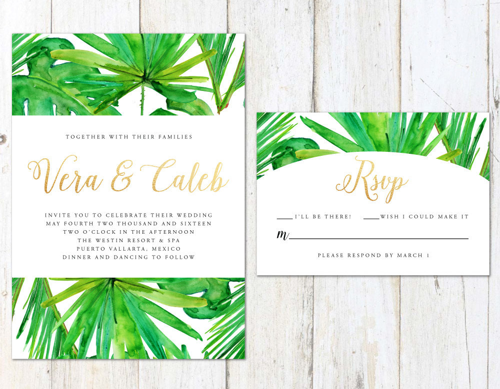 Colorful Wedding Invitations to Capture Your Guests' Attention