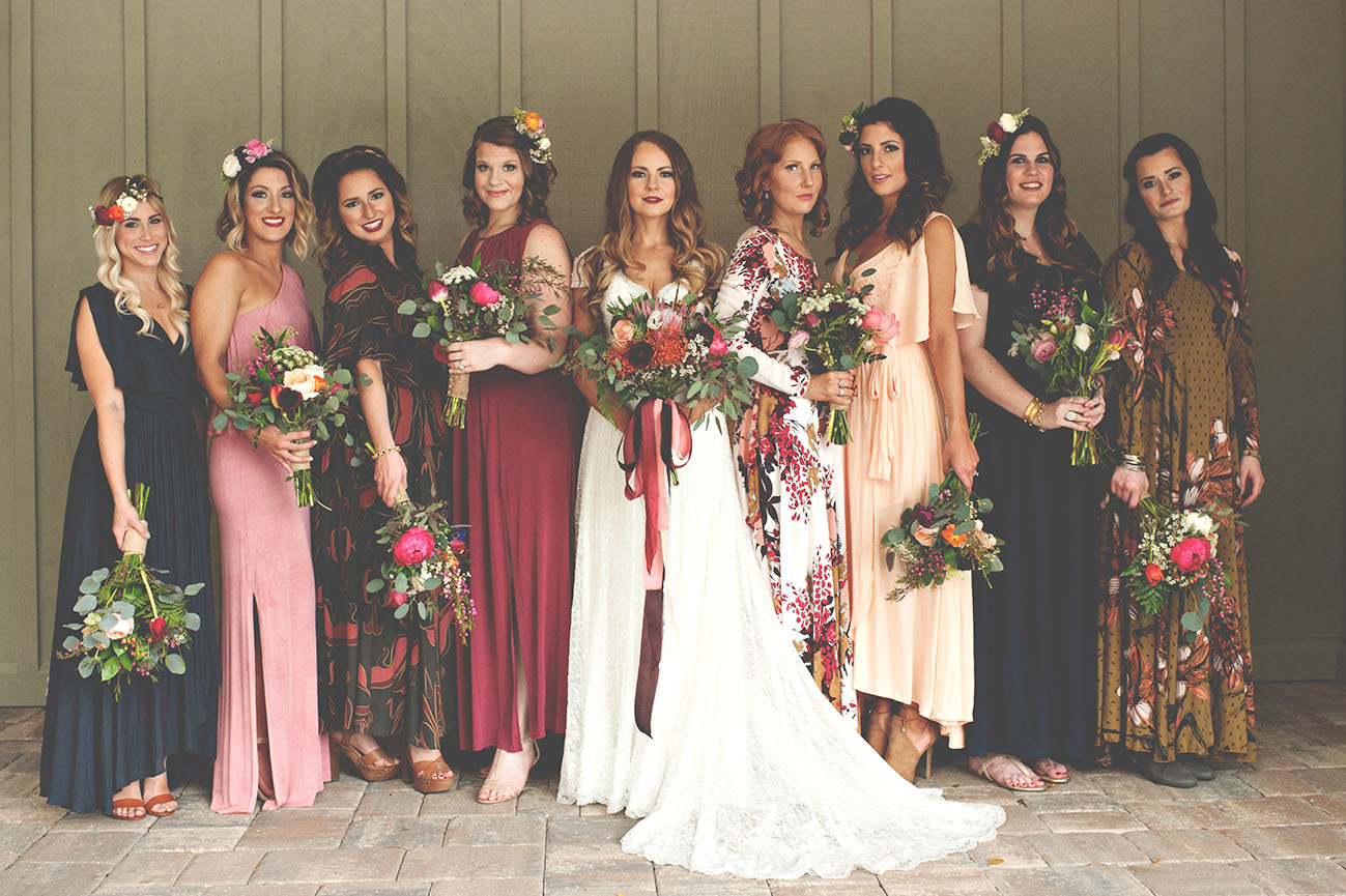 Chic Color Palettes for Fall Weddings