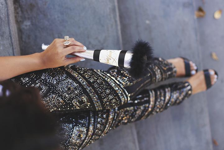 Sequined Leggings