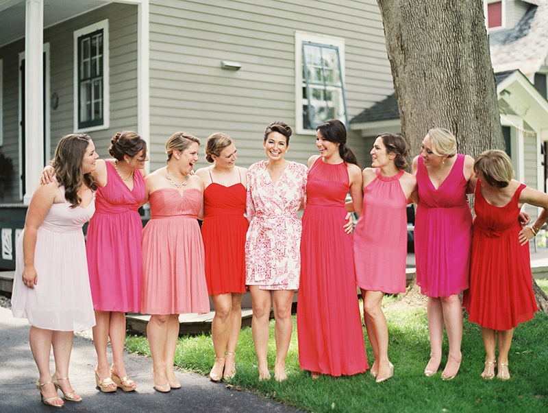 Summer Bridesmaids with Gorgeous Dresses & Enviable Style