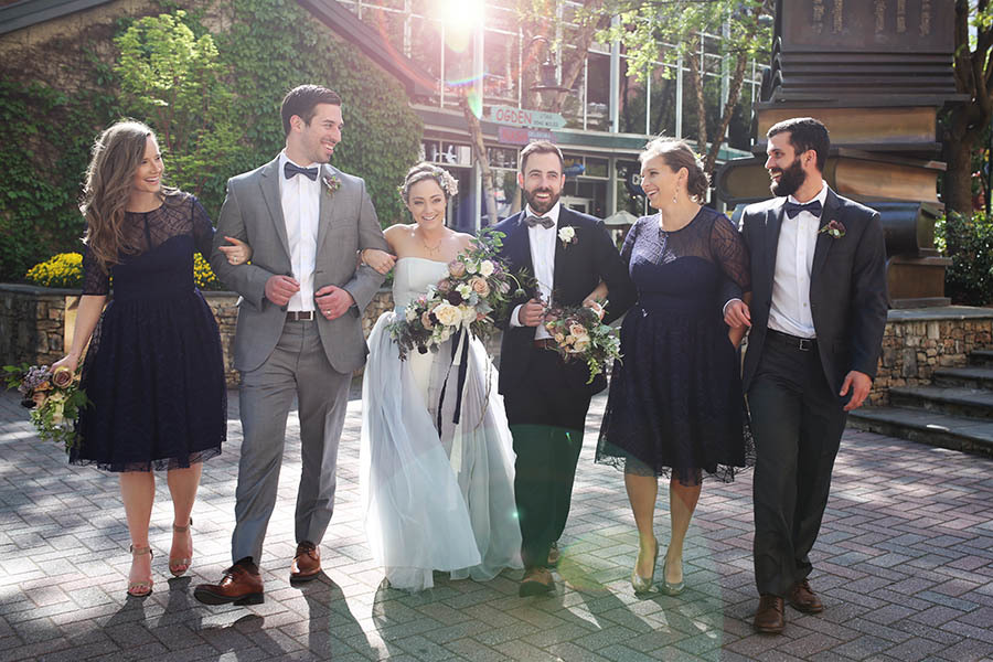 Misty & Jared's Gorgeous Vow Renewal by The Big Fake Wedding