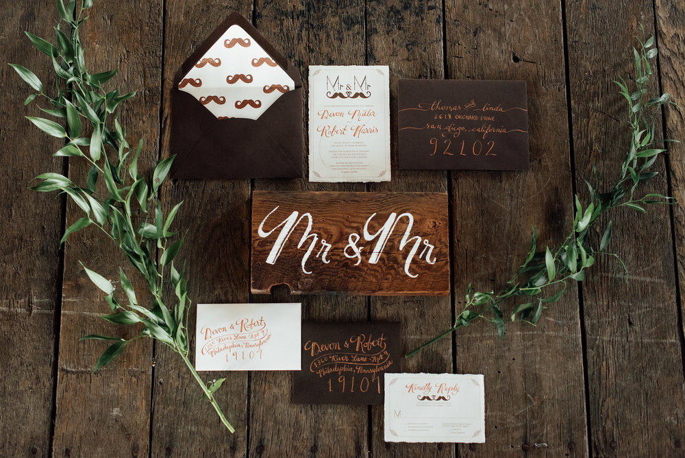 Same Sex Wedding Ideas with Serious Aisle Style