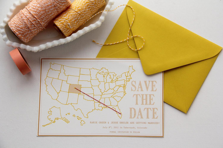 10 Destination Wedding Save the Dates