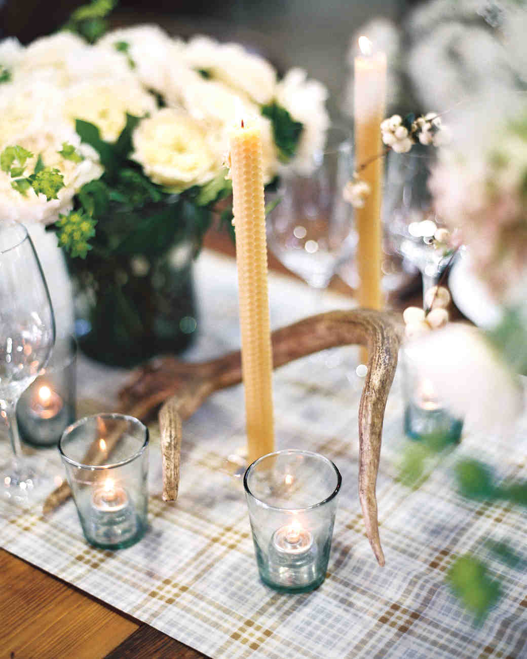 Perfectly Plaid Wedding Details