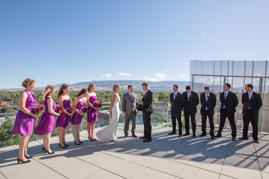 Mariah & Barron's Modern Reno, NV Real Wedding by Johnstone Studios Photography
