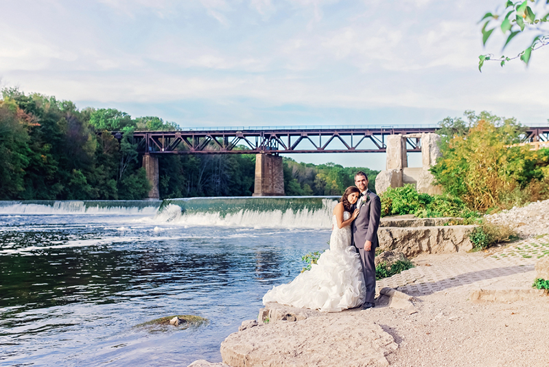 Tanya & Clint's Traditional Paris, Ontario Real Wedding by Melissa Avey Photography
