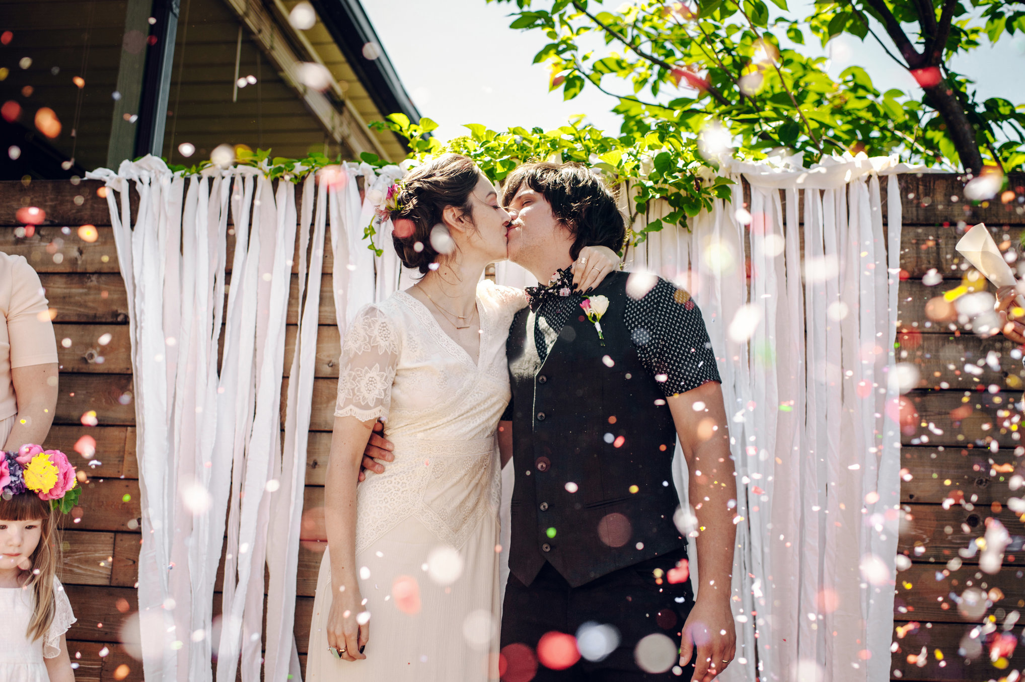 Magical Outdoor Wedding Photos of the Happy Couple