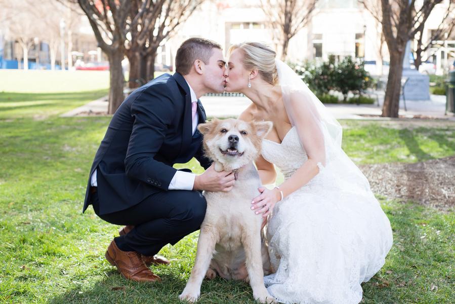 Stephanie & Tyler's Charming Atlanta, GA Rooftop Wedding by Mishaun Arrington Photography