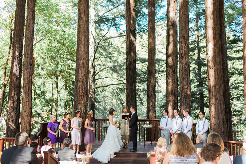 Sewon & Taurin's Woodsy Watsonville, CA Real Wedding by Let's Frolic Together