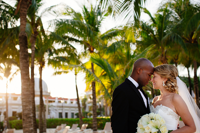 Ashley & Travis' Romantic Playa del Carmen, Mexico Real Wedding by Melissa Mercado