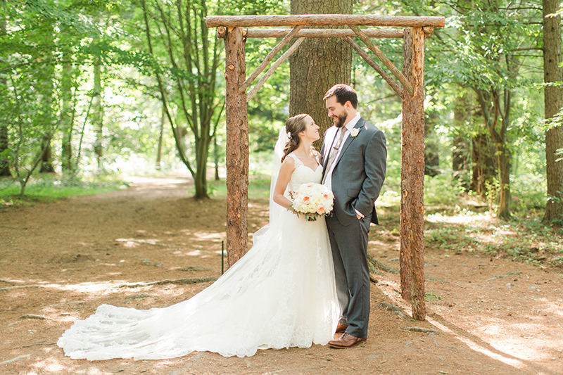Emma & Ryan's Sweet Thurmont, MD Real Wedding by Kaitlyn Phipps Photography