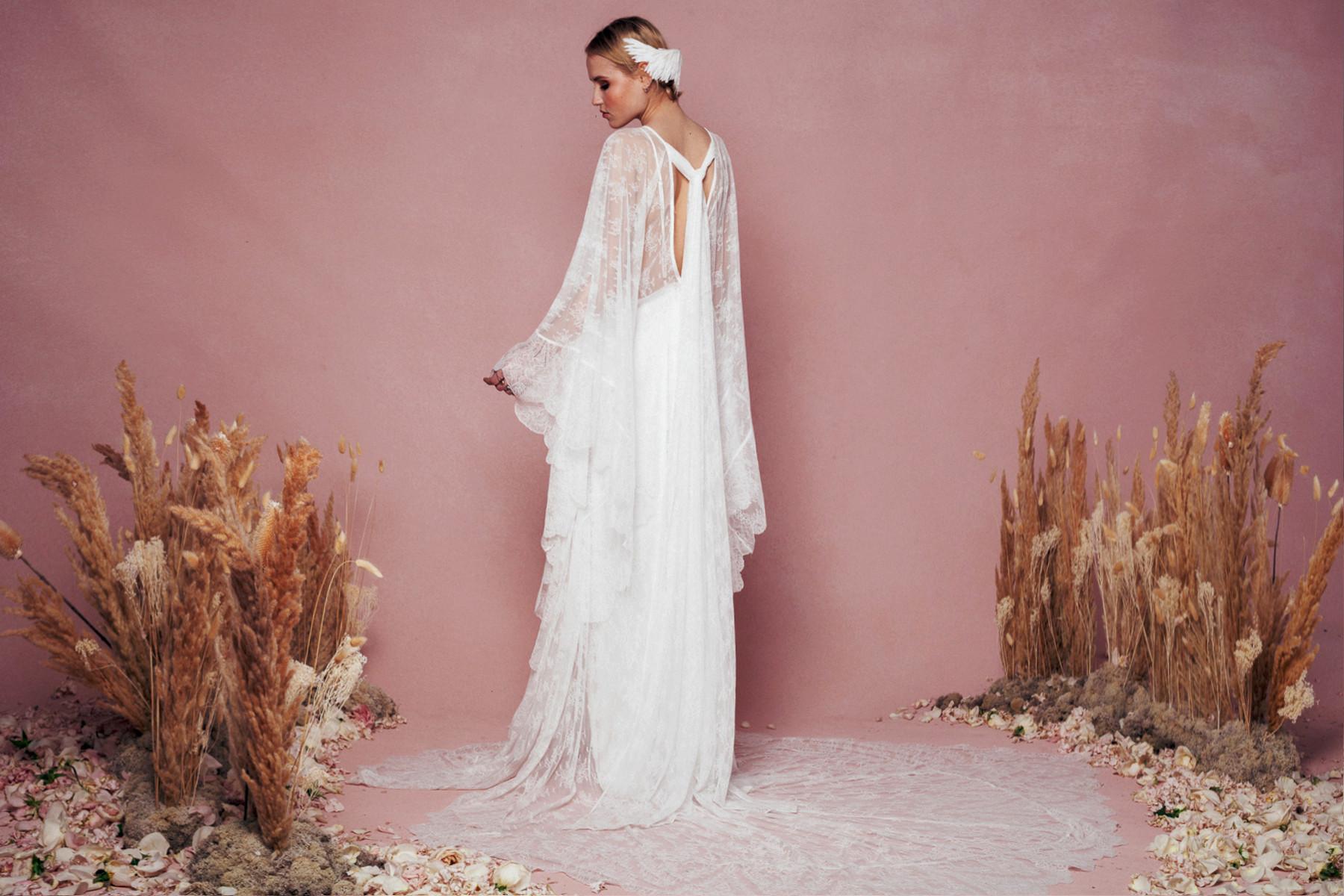 boho wedding dress 13